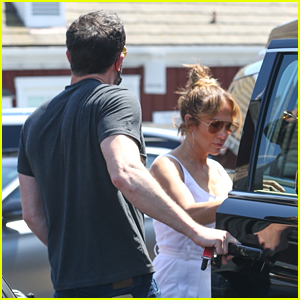 Ben Affleck & Jennifer Lopez Go Shopping in L.A. with Their Kids - New Photos