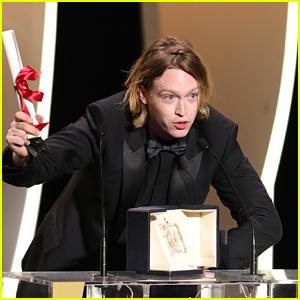 Caleb Landry Jones Wins Best Actor at Cannes 2021, Curses His Way Through Abrupt Speech!