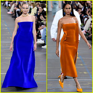 Candice Swanepoel & Joan Smalls Walk the Runway for Off-White Show in Paris