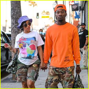 Pregnant Cardi B & Offset Go Sunglasses Shopping Together