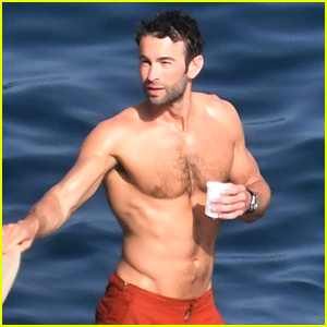 Chace Crawford Looks Hotter Than Ever While Baring Ripped Body on Vacation with Girlfriend Rebecca Rittenhouse