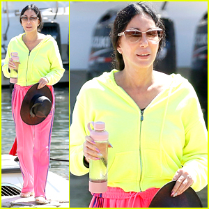 Cher Rocks Neon Yellow & Pink While Wrapping Up Her Vacation in Europe