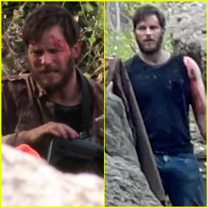 Chris Pratt is All Bloody & Bruised While Filming New Series 'The Terminal List'