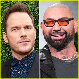 Chris Pratt Reveals What He Hilariously Texted to Dave Bautista While on Sleeping Pills
