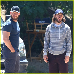 Chris Pratt Spotted with Taylor Kitsch On Set of 'The Terminal List' Series for Amazon!