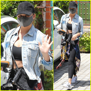 Chrissy Teigen Keeps Low Profile While Running Errands in L.A.