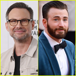 Christian Slater Reacts to Chris Evans' Viral Tweet About Him