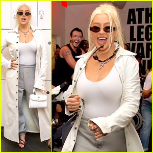 Christina Aguilera Surprises Fans at SoulCycle Class Ahead of Her Hollywood Bowl Show