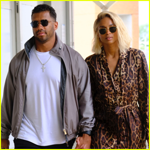 Ciara & Russell Wilson Jet Out of Venice After Romantic Getaway