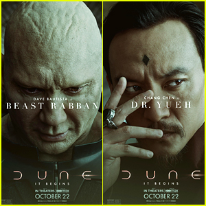 See Dave Bautista as Beast Rabban In His 'Dune' Character Poster!
