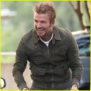 David Beckham Looks Totally Starstruck Meeting This Iconic Actor!