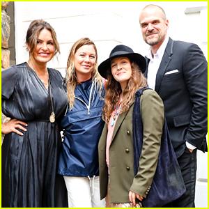 Ellen Pompeo, Drew Barrymore, Mariska Hargitay & More Celebrate David Harbour & 'Black Widow' at Special Screening Event