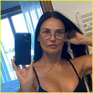 Demi Moore Shows Off Her Bikini Body in a Hot Selfie