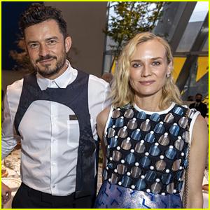 Diane Kruger Reunites with 'Troy' Co-Star Orlando Bloom, Reveals Her Mom Criticized Her Dress