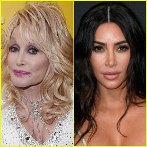 Dolly Parton Reacts to Kim Kardashian's Sexy Bikini Photo
