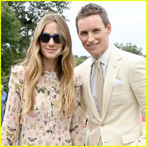 Eddie Redmayne & Wife Hannah Make Rare Appearance at Wimbledon 2021