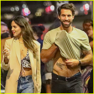 Eiza Gonzalez's Boyfriend Paul Rabil Flashes His Hot Bod During Night Out!