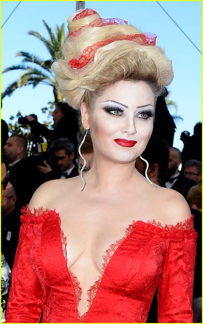 Elena Lenina at Cannes 2013