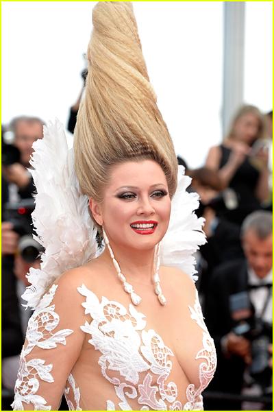 Elena Lenina at Cannes 2015