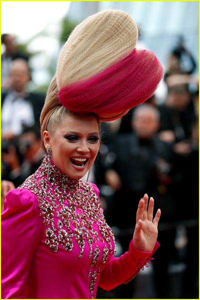 Elena Lenina at Cannes 2016