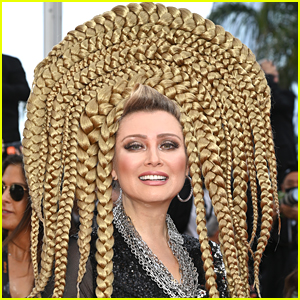 Actress Elena Lenina Wore An Over The Top Braided Hairstyle To Cannes!
