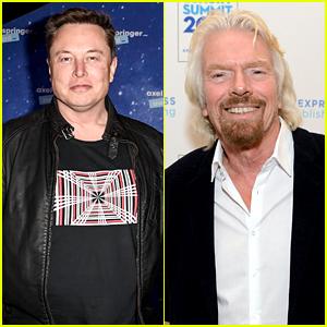 Elon Musk Responds To That Now Viral Photo Of Him & Richard Branson