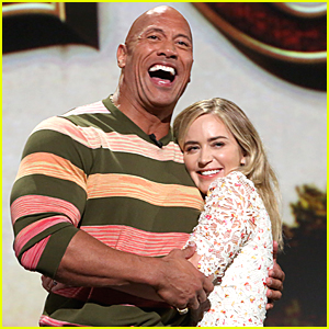 Emily Blunt Has The Funniest Nickname For 'Jungle Cruise' Co-Star Dwayne Johnson