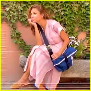Eva Mendes' Two Daughters Filmed Her Latest Instagram Video - Watch!