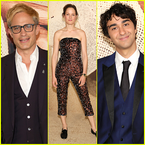 Gael Garcia Bernal Goes Blonde For 'Old' Premiere With Alex Wolff, Vicky Krieps & More