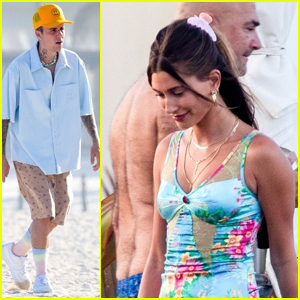 Justin & Hailey Bieber Spend the Night with Friends During Vacation in Cabo!