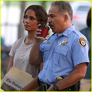 Halle Berry Starts Filming on New Movie 'The Mothership' in Boston