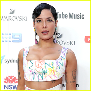 Halsey Jokes About The Size Of Their Baby Bump in New Pic