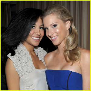 Heather Morris Honors Late 'Glee' Co-Star Naya Rivera With a Tattoo of One of Her Final Tweets