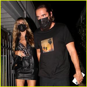 Heidi Klum Spotted On a Date Night with Husband Tom Kaulitz