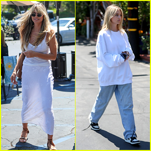 Heidi Klum Spotted with Her 17-Year-Old Daughter, Budding Supermodel Leni Klum!