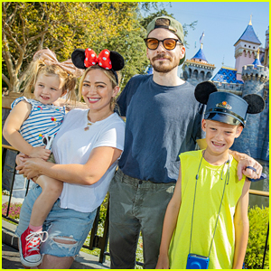 Hilary Duff & Matthew Koma Take Their Kids To Disneyland!