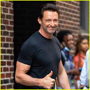 Hugh Jackman Shows Off Huge Arm Muscles Ahead Of 'Late Show' Appearance