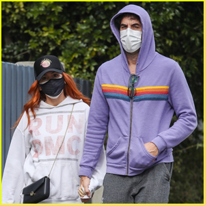 Isla Fisher & Sacha Baron Cohen Hold Hands During Day Out in Sydney