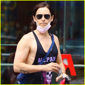 Jared Leto Shows Off His Muscles After Intense Workout