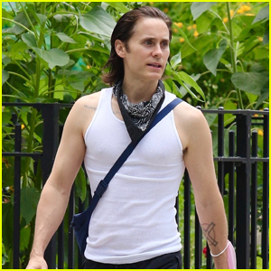 Jared Leto Shows Off His Physique After a Workout in Manhattan