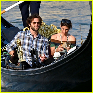 Jared Padalecki Goes for Romantic Gondola Ride in Venice with Wife Genevieve!