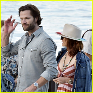 Jared Padalecki Spotted in Italy with Wife Genevieve During a Birthday Getaway!