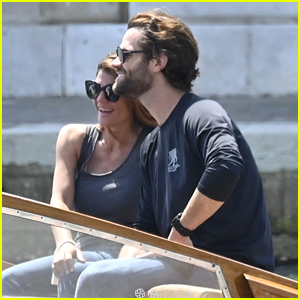 Jared Padalecki & Wife Genevieve Go for Boat Ride Through the Venice Canals