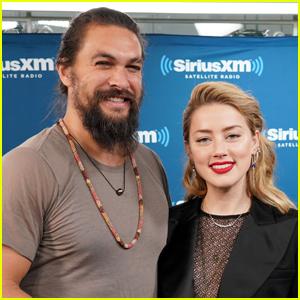 Jason Momoa Congratulates 'Aquaman' Co-Star Amber Heard on Birth of Daughter Oonagh