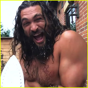 Jason Momoa Strips Down During 'Kimmel' Interview to Make Things Sexy - Watch Now!