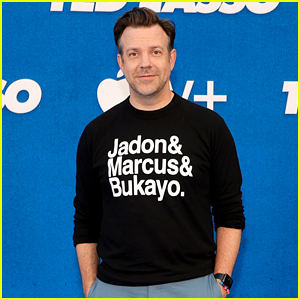 Jason Sudeikis Supports English Soccer Players at 'Ted Lasso' Premiere After Acts of Racial Abuse