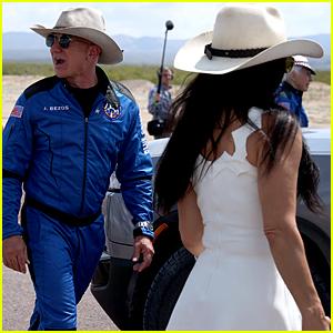 Jeff Bezos' Girlfriend Lauren Sanchez Gave Him a Big Embrace After Space Flight!