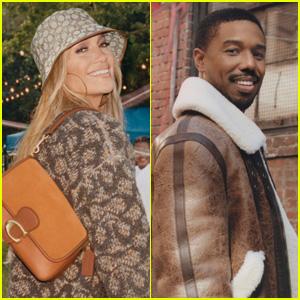 Jennifer Lopez & Michael B. Jordan Team Up for Coach's New Fall 2021 Campaign