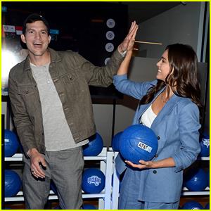 Ashton Kutcher & Jessica Alba Team Up to Celebrate AT&T's New 5G Technology