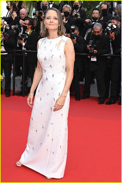 Jodie Foster at 2021 Cannes Film Festival